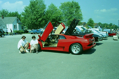 Car show with the Diablo