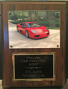 2007 - Italian Car Festival - Class Winner