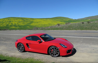 March 15, 2014 - My 981 Cayman S down near Lucas Valley Rd.