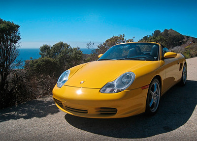 September 16, 2012 - Another shot of my 2003 Boxster S in Carmel, CA