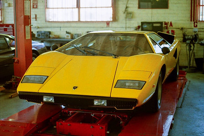 Amazing early Lamborghini Countach - August 2, 1989 - Beverly Hills Sports Cars