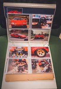 1980's Lamborghini  Countach Trapper Keeper