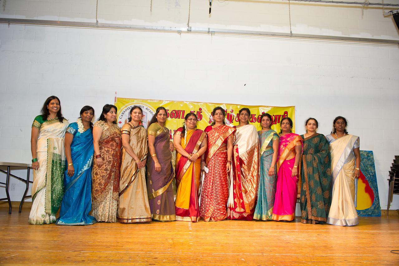 Canadian Tamil Academy Teachers -  Tamil Kids event @ Wilclay Public School,  Markham.