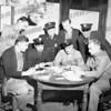 AFD sitting l-r John Trzaskos, Chris Bonefede, ?,?. Standing l-r Lou Eckelman, Joe DeRose, ?, Les Danphier