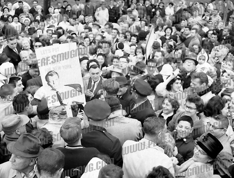 Robert F. Kennedy, October, 1964 US Senate campaign.