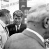 Robert F. Kennedy, October, 1964 US Senate campaign. With Congressman Sam Stratton