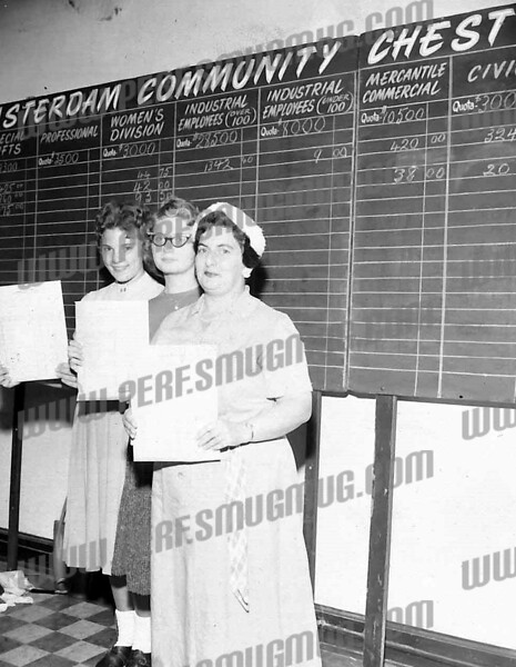 On left is Barbara Krupczak. In middle is Kathy Lasky. Maybe 1961 or 62.