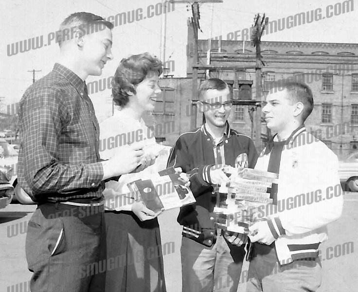 L - R: Albert Gode, Margaret Stewart, Paul Jenick and Louis Pettica