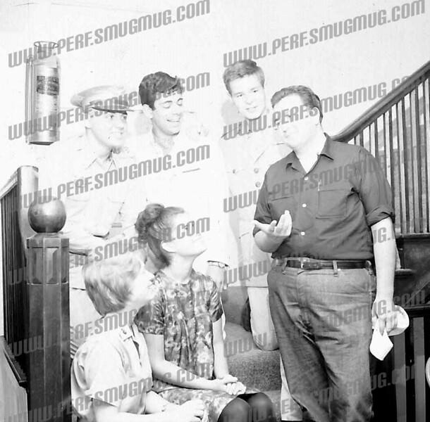 middle back row, Joe DeTura, back right Mark Copp - Peggy Martin, center