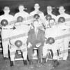 Paul Wyzomirski wrote about this photo on Oct 15th;<br /> <br /> Wilton Lanes: circa 1960<br /> Probably city league team.<br /> Standing: Left Ed Gumm, Bill Fennahan,Tony LaBate,Joe Keone and Frank Politano.<br /> Tony Griffin (sitting)proprietor