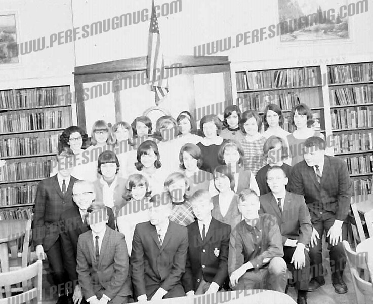These are some members of my class, Lynch 1968. I can make out front left, Bill Bubniak, ___, Rick DeForest and Mike Fedash. Second row left is Paris. Third row left is Bill Bath.