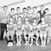 St. Mary's Gaels, 8th grade 1964. Front row l-r Bill Levandowsky, Tom Hrycaj, Tim Abeel, Bob LaConte, ? RearCoach?, Bill Whelly, Hank Kelly, Jim Capodiferro, Bob Tarmey?, Bill Dado, Coach William Meleski, ? (I know him, just drawing a blank)