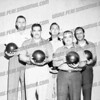 Saint John's Lanes........Probably team from the Tavern League early 60's the latest.<br /> Joe Campachiro 2nd from left & Don Kowalski center