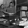 l-r Joe DeRose, Joe Wojcik and Chief Palombo