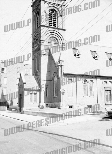 gail pacillo-wiley wrote about this photo on Oct 9th;<br /> <br /> St .Joseph's church on Guy Park Ave another part of history gone