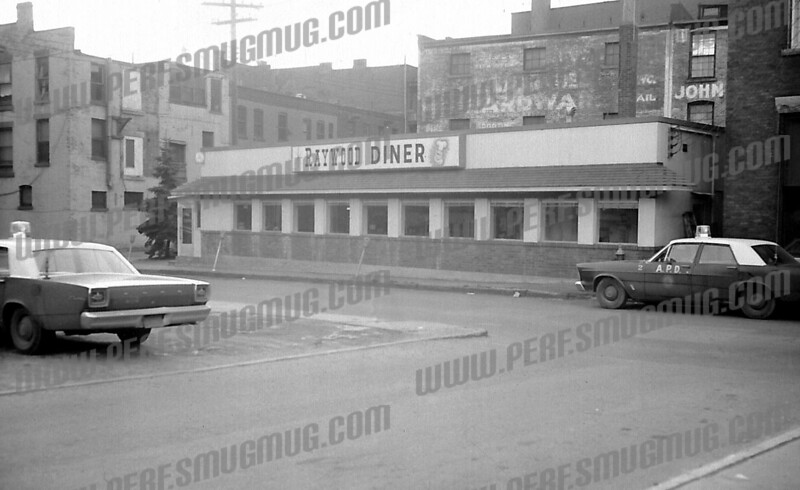 Maxwell House diner on Chuctanunda Street forced to change its name, late 1960's. Later Tullio's, now Emmy Lou's