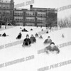 Best sledding hill in city, front of Wilbur H. Lynch Senior high