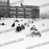 Best sledding hill in city, front of Wilbur H. Lynch Senior high