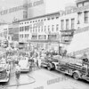 Fire in the Bi-Mor Army & Navy Store, 5 E. Main St. May 10, 1954