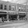 Hanson & Dickson furniture store 46 Market St. March 17, 1955. 11 firefighters were injured.