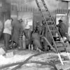 Fire at Castlers Market 113 E. Main St. March 10, 1961