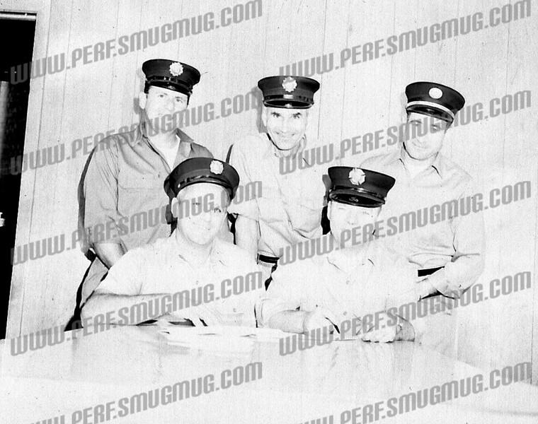 APFA officers l-r frt, Dom Metallo, Ed Tolson<br /> Rear Pete Bylina, Lee Richey, and Chris Bonrfede
