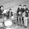 Bob Going wrote about this photo on Oct 29th;<br /> <br /> CSM musical, Bishop Scully High school 1966. Gail Welch (Squillace) singing, Tim and Tom Spakosi on the right (even they don't know which is which), No Duplication on drums.