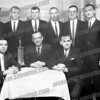 front left: marco zumblo....back row: 2nd ed murphy, 4th larry price, 5th claude palczyk,<br /> I think the 3rd from the left in the back row is Hank Kartner. On far right is my cousin Tom Sheppie.
