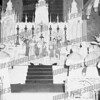 Solemn High Mass at St. Mary's Church, pre-1960.