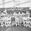AHS wrestling team:<br /> Eric Luzinas top row left. <br /> Bottom row,light weight division: Tom DeBerry and Johnny Viaro