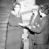 SMI English teacher Mrs. Laura B. Going celebrates education week, c. 1963