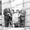 Mayor John P. Gomulka, left, Corporation Counsel Joe Jacobs, right
