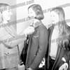 Mary Caprera in the middle circa 1974