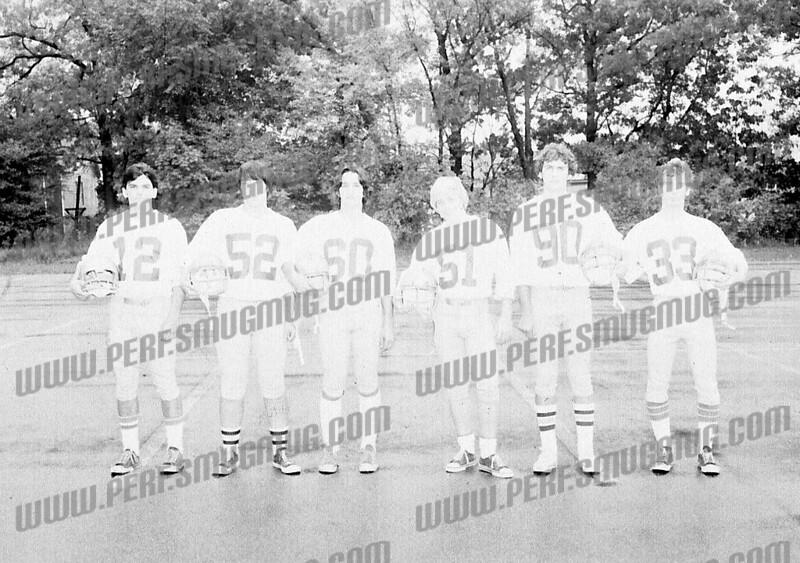 12-Seth Merrow 52-Rick Agresta 50-Joe Ziskin 90-Steve Schreiber 33 Dave Liccardi