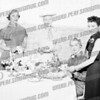 Seated: Mrs. Robert G. Turner - wife of principal of Wilbur H. Lynch High School
