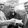 Amsterdam Knights Semi-Pro Baseball Club 1970's<br /> John Bien, Stan Pendrak, Ray Skaradek