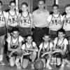 "1962 Bantam League Champs<br /> 1st Row Left to Right<br /> Mike Skaradek12, Frank Bialobok 9, Robbie Skaradek 9, Tony Zeno 12.<br /> 2nd Row, Joe Bialobok 11, Mark Olbrych 10, Bill Dado 12<br /> Walter ""Hank"" Kelly 12,Rick Bein 11,<br /> Missing Tony Sumigray12<br /> Coach Ray Skaradek"