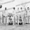 This is some of the AHS track team of 1962. Mike Burtt is in the starting blocks on the left. He used to run the 100 yard dash in 10.1 0r 10.2 seconds. He was one fast SOB. I remember the Schenectady Invitational Track Meet in 1962 when he ran the anchor leg of the 4x100 relay. Our team fouled up a baton handoff along the way and when Mike took the baton he was in last place. He made up about 20 yards in his leg and won the race. Paul Russo and I went horse yelling and cheering him on. Mike was also on the football team. The guy on the far left is Harrison __?___. He was also on the basketball team and was part of the 4x100 relay team. The guy second from the right is Dick Sidlauskis. He was also part of the relay team, was the teams best hurdler and triple jump champ. He was also on the football team.