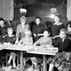 far left standing Eva Boggie, third from left standing Emily Mancini, standing far right Edna Stokna. Seated second from right Rose Stark