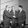 Rabbi Samuel A. Bloom (center)