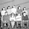 Perth Central School class of 1970 students. Front left to right Pete Ostrowski, Toni Farrell, Barry Fortner, Tony Buccifero. Back: Duane Philips, Ron Grinnell, Archie Budnikas, Joe Tessitore, and Bob Townsend