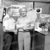 This was taken at the old Wil-ton lanes - man on the left was the manager, Tony Griffin?<br /> That is Walt Sievert on the left.