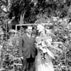 1939 Wedding of Margaret Ross and Edwin Ackenback.
