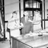 Mayor Frank Martuscello accepting veterans violet. C. 1961.