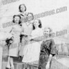 I think these ladies are, Mrs Hyden, Dottie Miller , unknown, Mildred Alpert(our mom), and Mrs Weissman