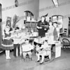 Mrs. Silk, the Children's Librarian at Amsterdam Free Library, probably late 50's