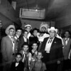 """Oklahoma"" cast backstage"