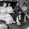 1956 Claudia Gutowski,  Ann Diamente, Emauela Boccio, Mary Ann Tjaden