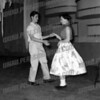 George Nicholson and Cathy Gilmartin 1957