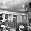 Youth in Government Day, Amsterdam Common Council Chambers,c. 1964. To the right of dais is Amsterdam Corporation Counsel Michael Riccio.